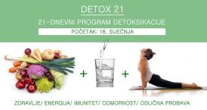 Detox 21 - 21-dnevni program detoksikacije
