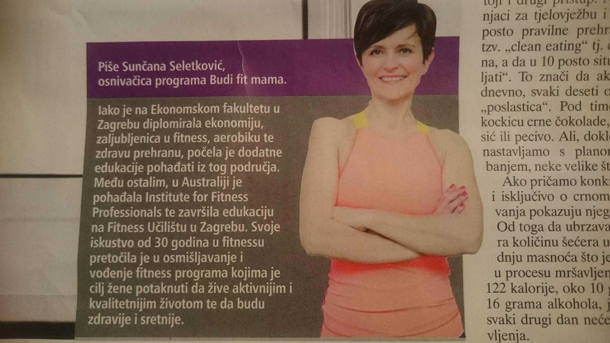 Živjeti zdravo - budifitmama.hr